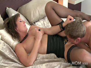mommy wife makes up for time apart from her