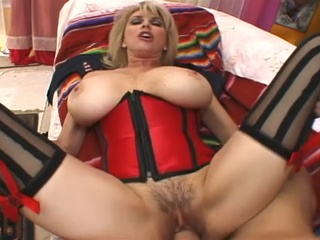 Busty Milf Drilled Hard