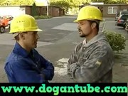 german mommy fucked by two construction workers -
