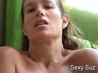 hot suz masturbating by the window