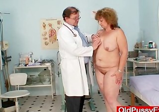 bushy bulky mom acquires harrassed by gynecologist