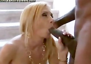 big dark meat for rich sexy cougar