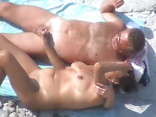 some other nice mature pair on the beach