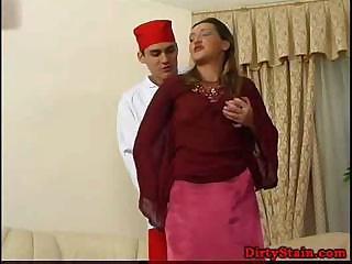 lonely mommy seduces her sons ally and copulates