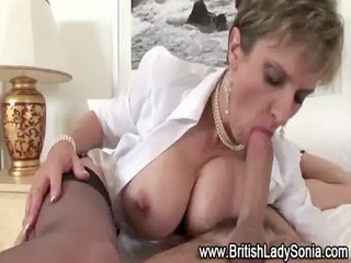 Busty mature slut Lady Sonia