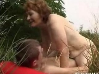 older woman and young boy 9