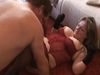 obese and breasty dilettante wife sucks and bonks