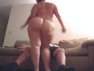 bulky wife with large gazoo fucked