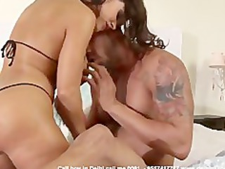 American couple fuck in Mumbai Hotel