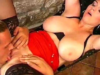 naturally breasty milf wench acquires a swinging