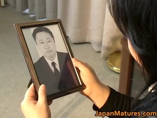japanese aged hottie has sexy sex