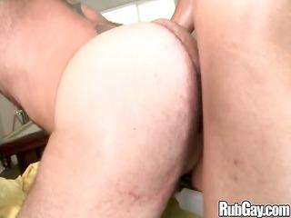 rubgay large ass anal massage