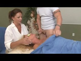 particular massage for blond aged