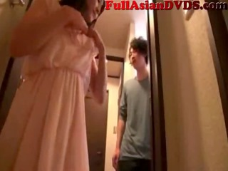 Japanese Mother Fucks Her Son(2)