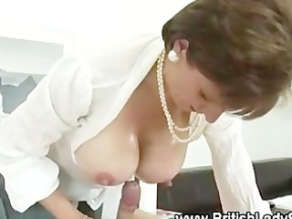 lady sonia gives russian to cock