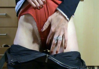 older with soaked pussy and stinky panties.