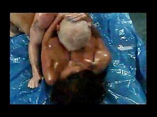 busty gazoo wrestling aged donita dunes