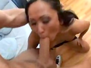 Asian milf fucking her sons best friend