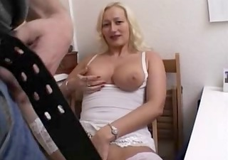german mother i fucks in the kitchen