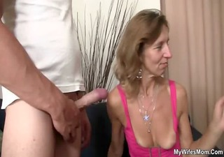 she rides her son in law pecker