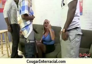 cougar pounce on dark dick 6