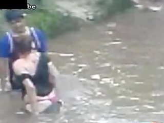 drunk mother i copulates a boy in the river