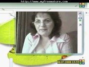 excited old ukranian housewife.. older mature