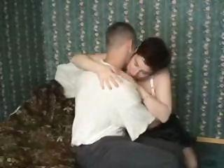 plump aged gets a youthful stud to fuck her and