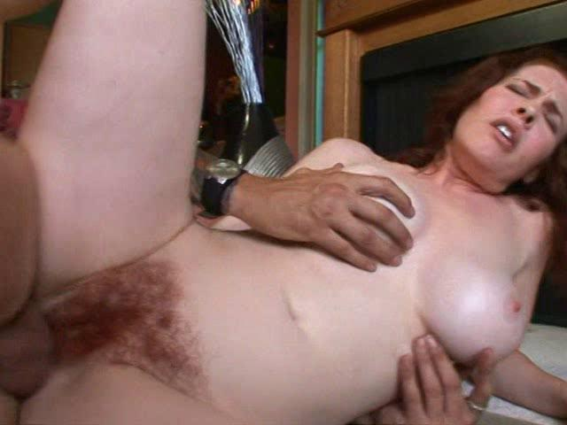 horny milf enjoys hard dong deep into her