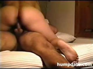 lalin girl wife with a large wazoo rides her