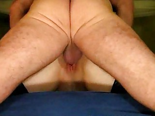 older pair garter ass take up with the tongue