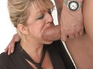 Good looking busty wife got double fucked