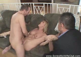 hawt redhead swinger wife screwing